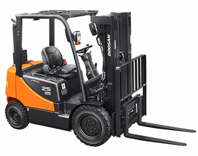 Where to find FORK LIFT DOOSAN 25 pro in Longmont