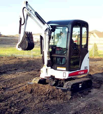 Where to find EXC MINI BOBCAT E20 in Longmont