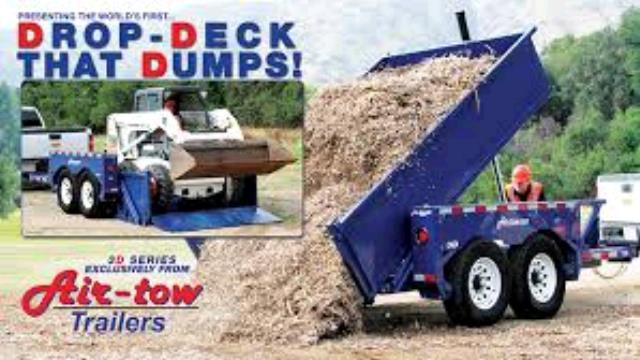 Where to find DUMP TRAILER 6x12 drop deck in Longmont